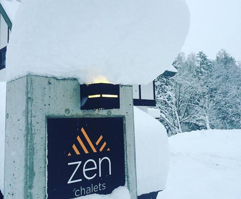 Zen Chalets Hakuba - the perfect location
