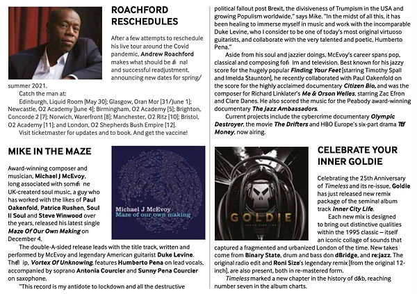 Echoes - 'Maze' review December issue 20