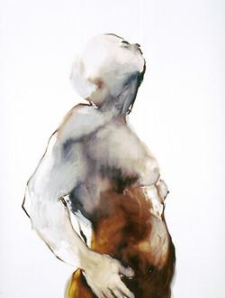 Ela Tom - oil on paper 55x73cm