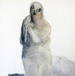 Ela Tom - oil on canvas 100x100cm
