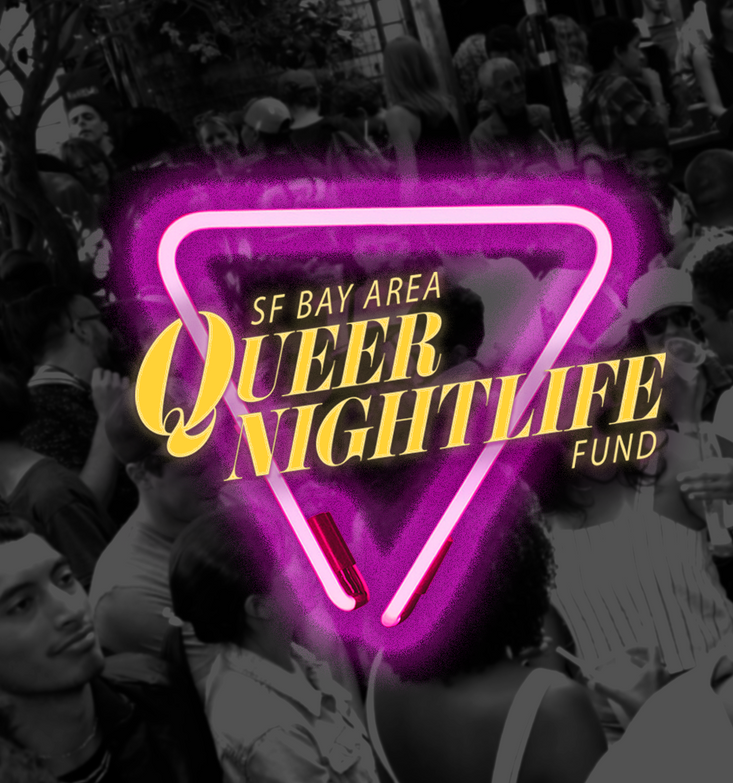 Queer Nightlife Fund Branding