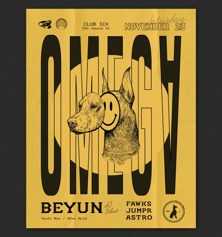 Omega 2019 Poster