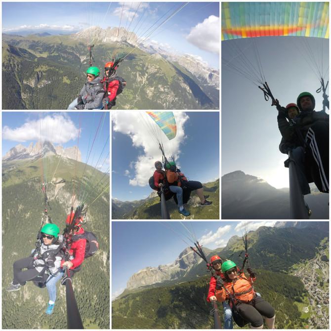 giornate di volo super sulle Dolomiti di Fassa