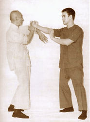 Yip Man und Bruce Lee