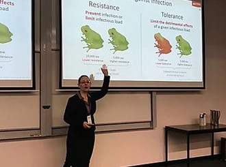 Laura and Thais presented at the World Congress of Herpetology in New Zealand
