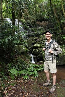 John Giles on our hike