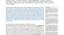 """""""Extreme Competence: Keystone Hosts of Infections"""" published in TREE!"""