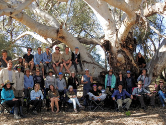 Field trip to Bowra Sanctuary with 3rd year Ecology students
