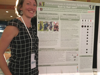 Our team at the Wildlife Disease Association International Conference! Part 3 (poster presentations)