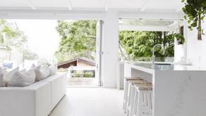 Coastal home dreaming through Winter - seamless indoor outdoor living.