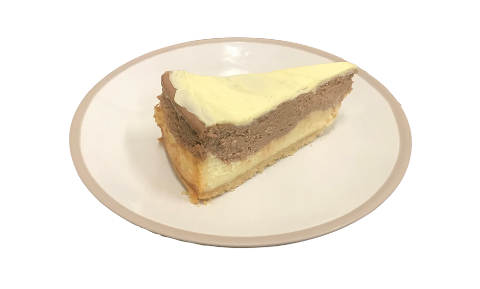 Vanilla & Chocolate Layered Slice