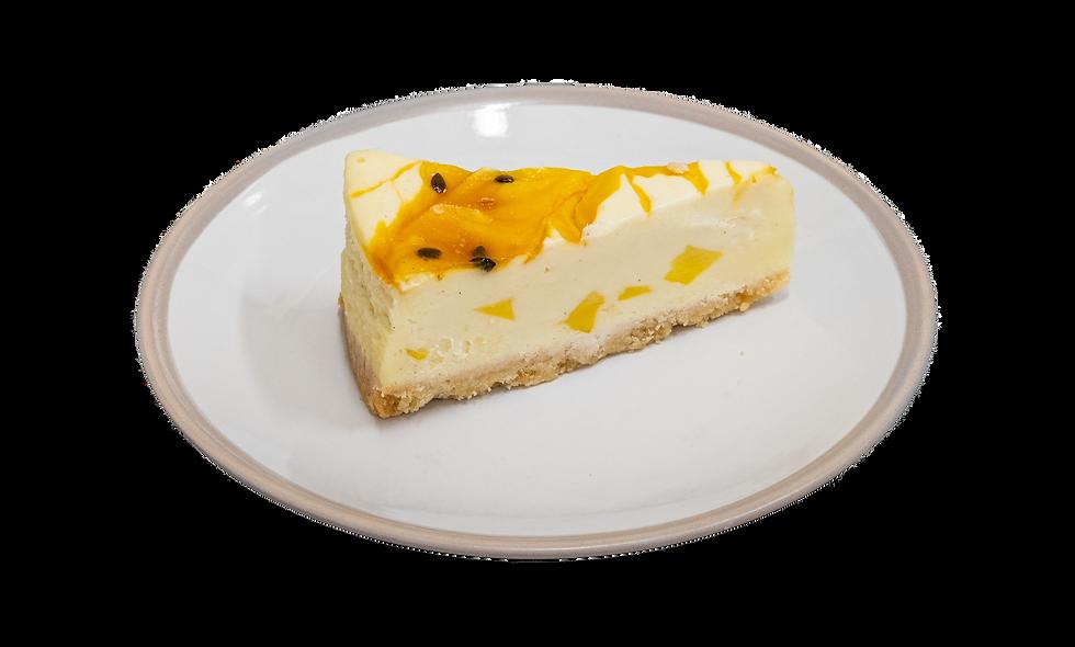 Mango & Passionfruit Slice