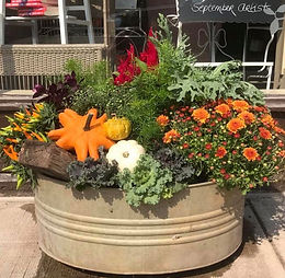 Fall Color Container