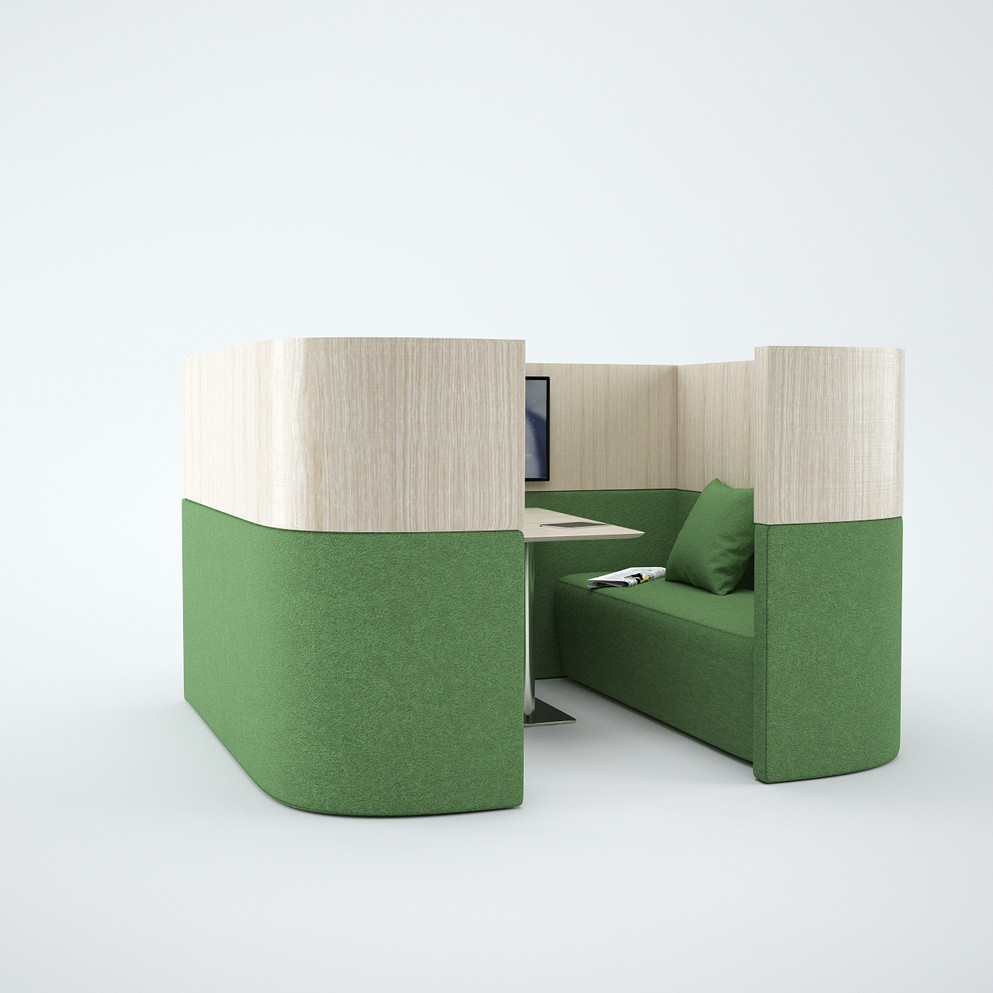 POD LUMAY DESIGN - POD GREEN FACE
