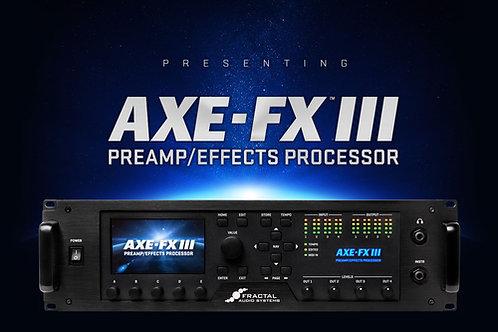 Fractal Audio Axe-Fx III - Deposit