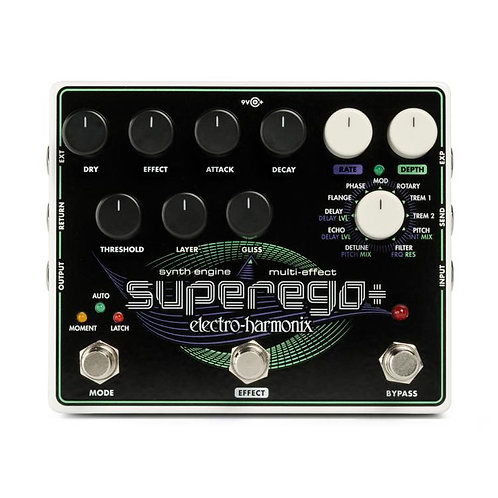 Electro-Harmonix Superego Plus Synth Engine with Effects