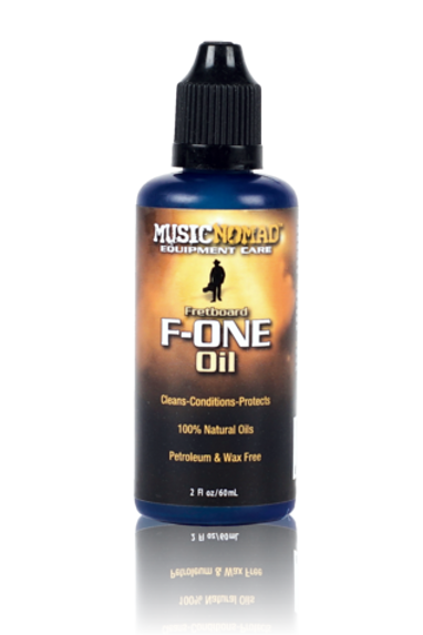 MusicNomad Fretboard F-ONE Oil - Cleaner & Conditioner