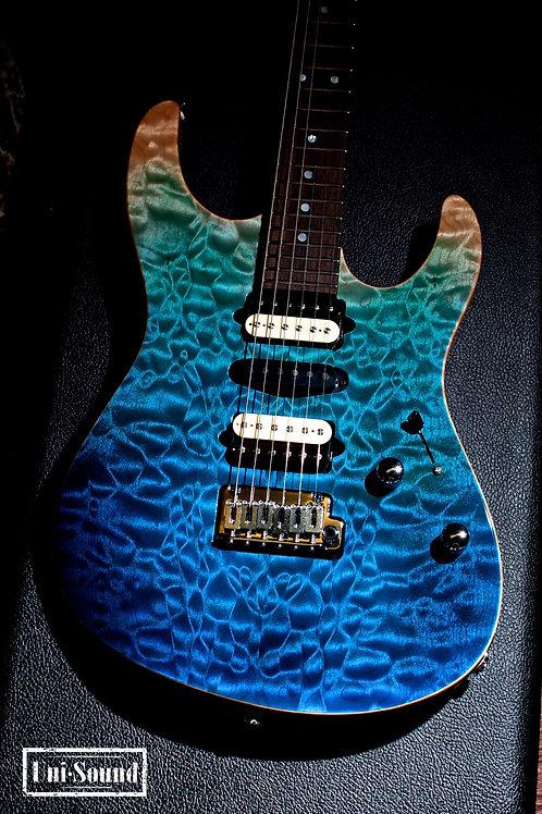 Suhr Custom Modern - Aqua Blue Gradient