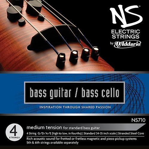 NS710 Bass Guitar/Bass Cello 4 String Set