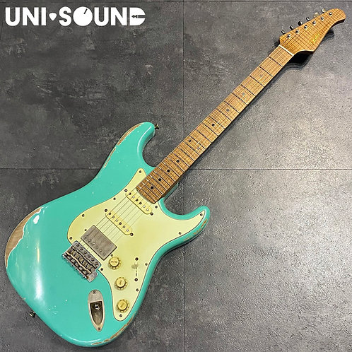 Xotic XSC-2 Heavy Aged - Sea Foam Green