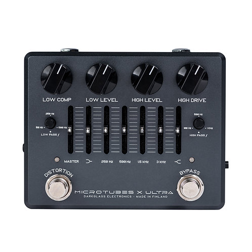 Darkglass Microtubes X Ultra Bass Preamp w/ Aux In