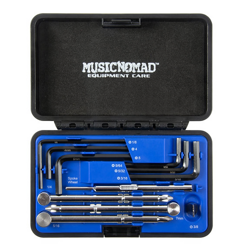 MusicNomad Premium Guitar Tech Truss Rod Wrench Set