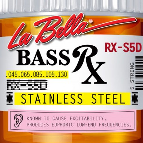 RX-S5D BASS RX STAINLESS STEEL, 45-65-85-105-130