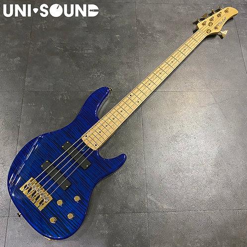 Mike Lull Modern 5 - Flamed Maple - Trans Blue