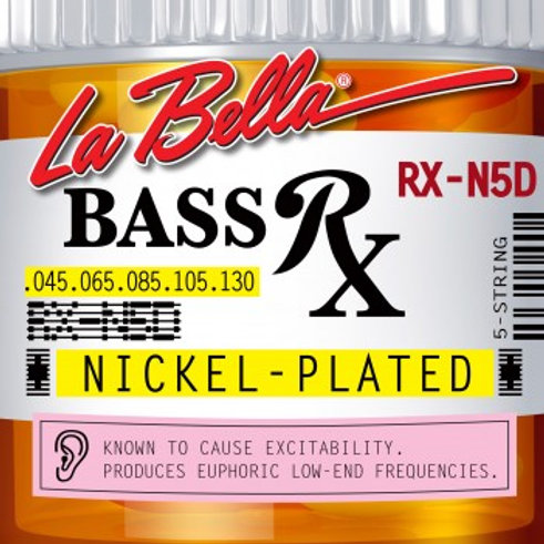RX-N5D BASS RX NICKEL-PLATED, 45-65-85-105-130