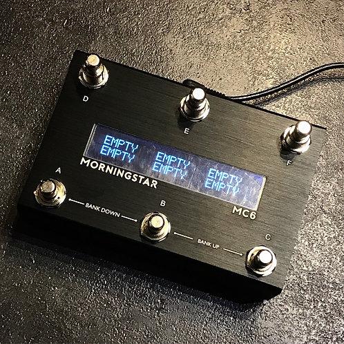 Morningstar MC6 MKII Programmable Midi Controller