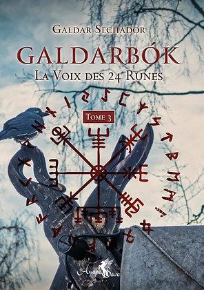 Galdarbok : La voix des 24 runes. Tome 3 - Galdar Seshador