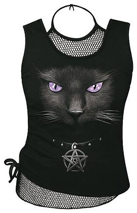 Top Black Cat