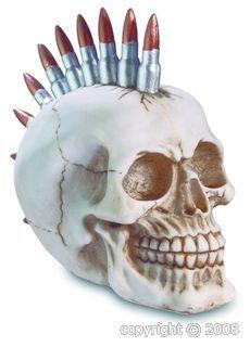 Crâne Balles