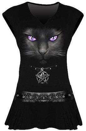 Tunique Black Cat