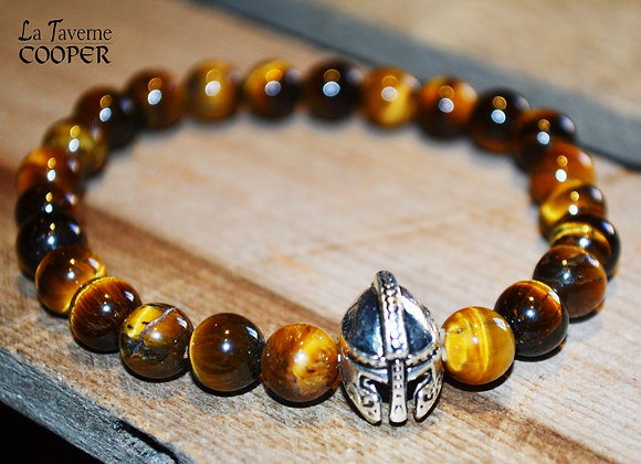 Bracelet Viking œil de tigre