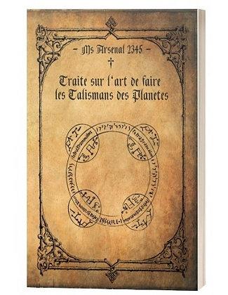 Traité su l'art de faire les talismans des planètes