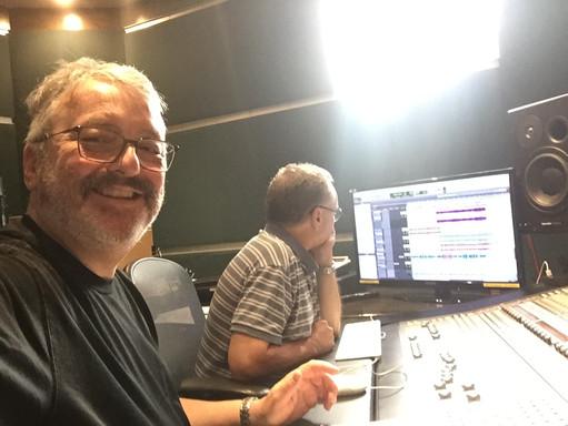 JL et Pierre aux studios Piccolo