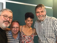 Jean-Louis, Pierre Messier, Marie-Christine Depestre, et Serge