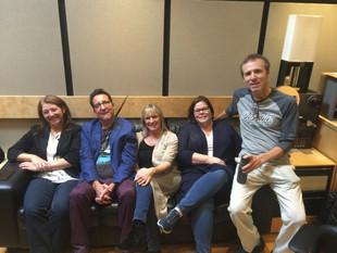 Julie Leblanc, Vincent Potel, Catherine Léveillé, Nancy Fortin, et José Paradis