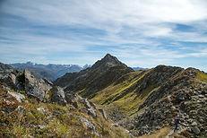 Gipfelweg Zamangspitze  Wandern Silvrett