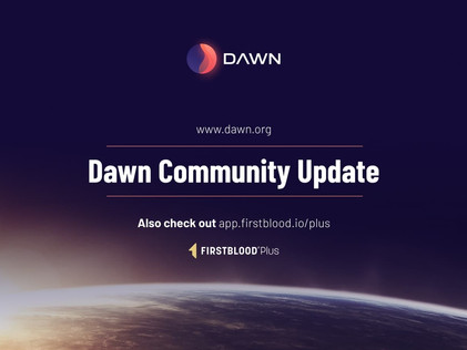 Dawn Community Update - Token Swap & 2020 Progress