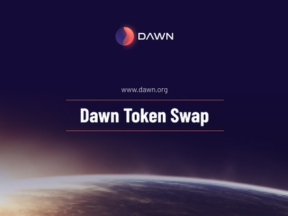 Dawn Token Swap Announcement