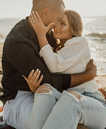 Seattle Warm beach engagement