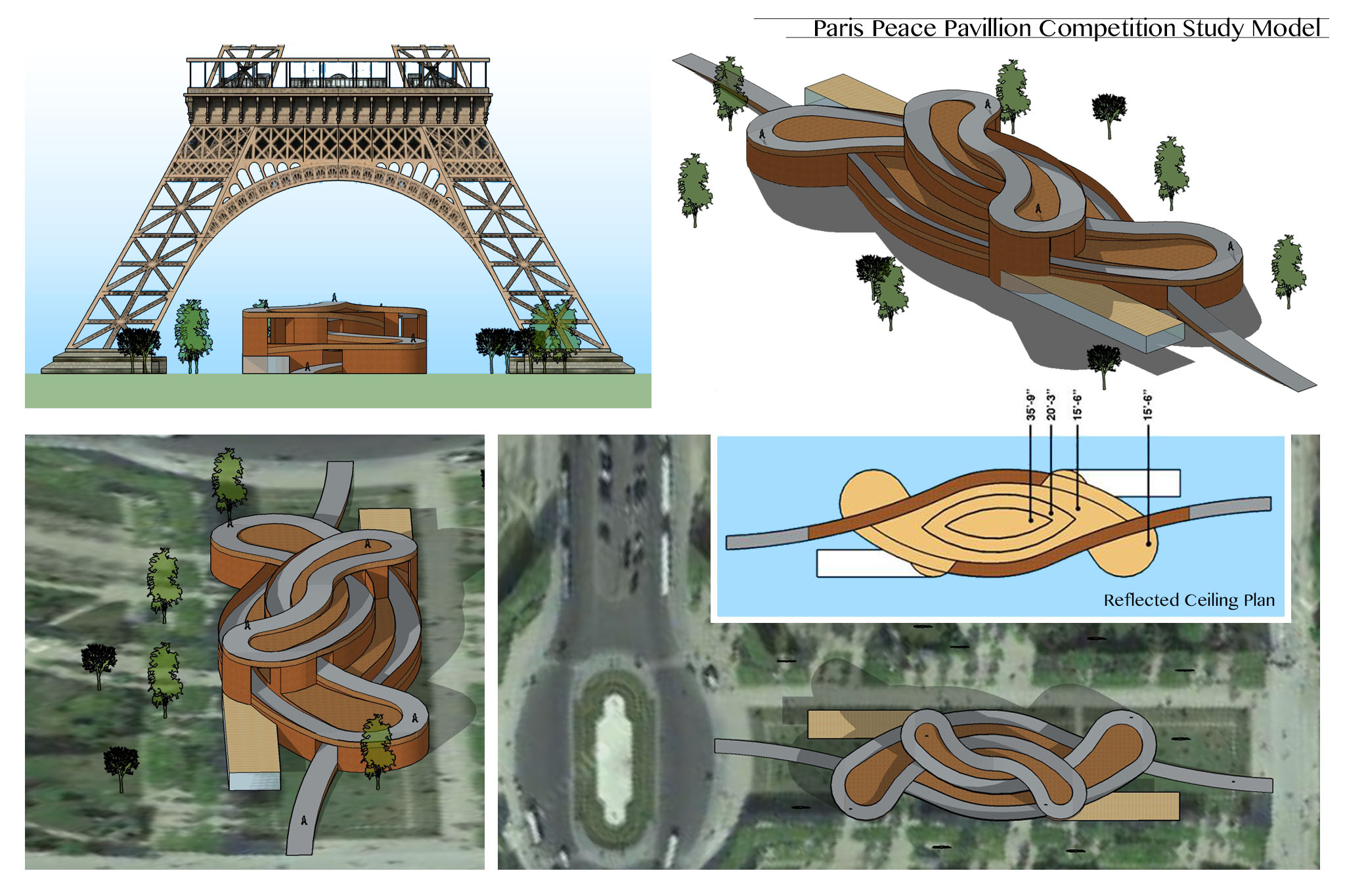 Paris Pavillion Layout