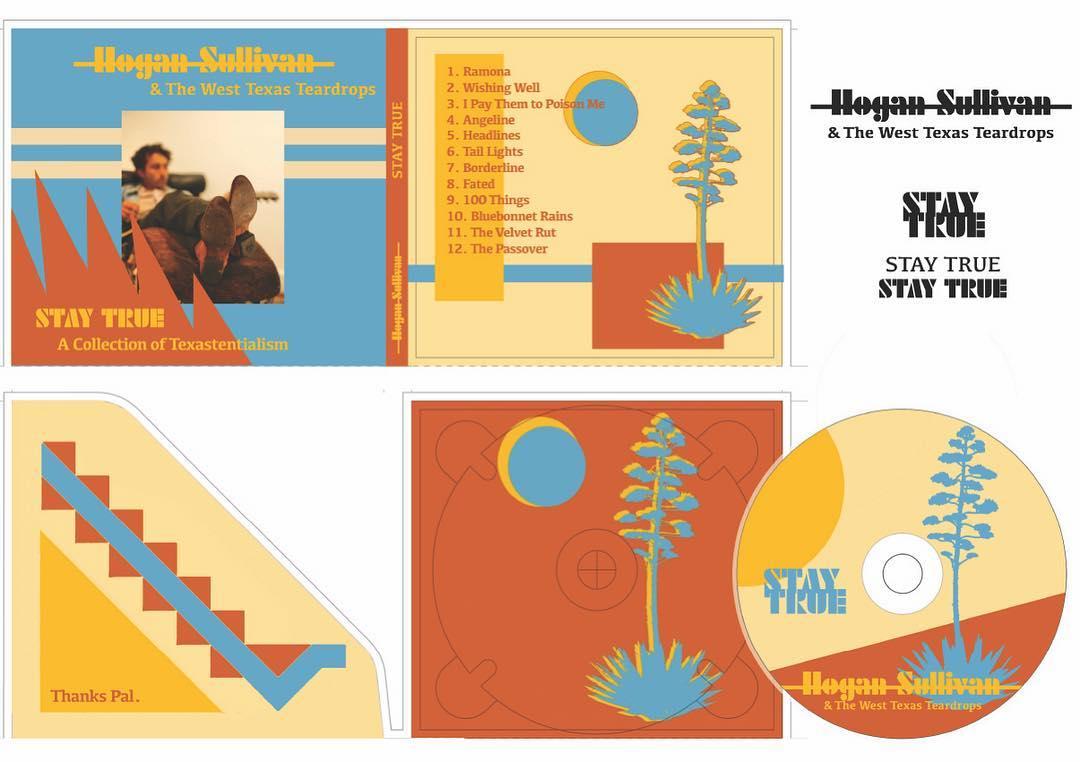 Texas Album Design spread
