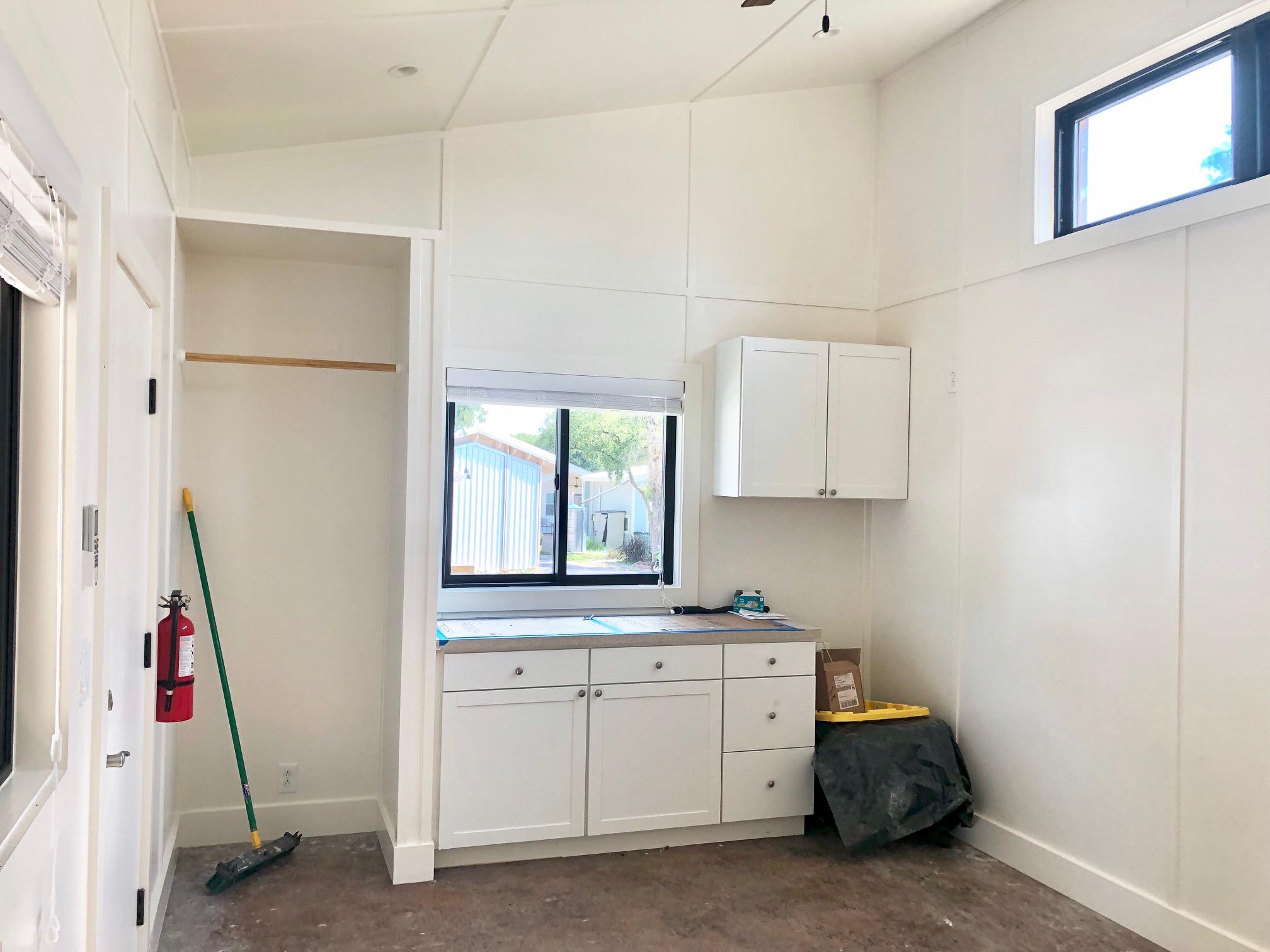 Tiny Hemp House interior