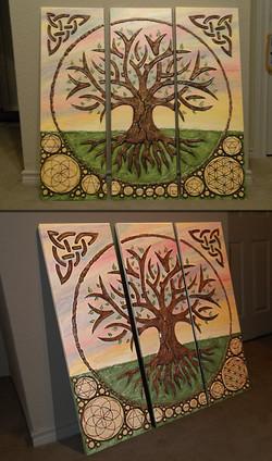 WADE Plaster Life Tree