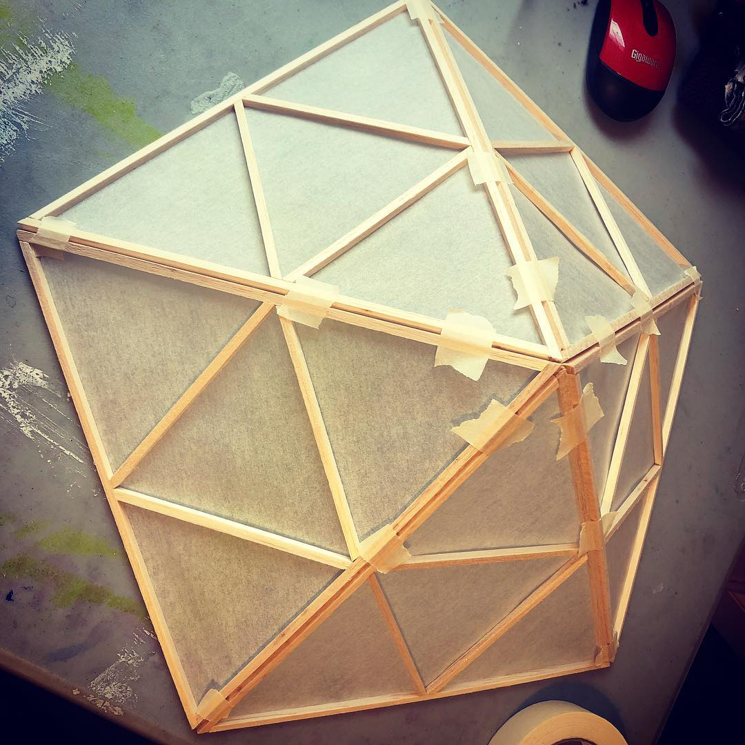 Japanese Lantern Construction