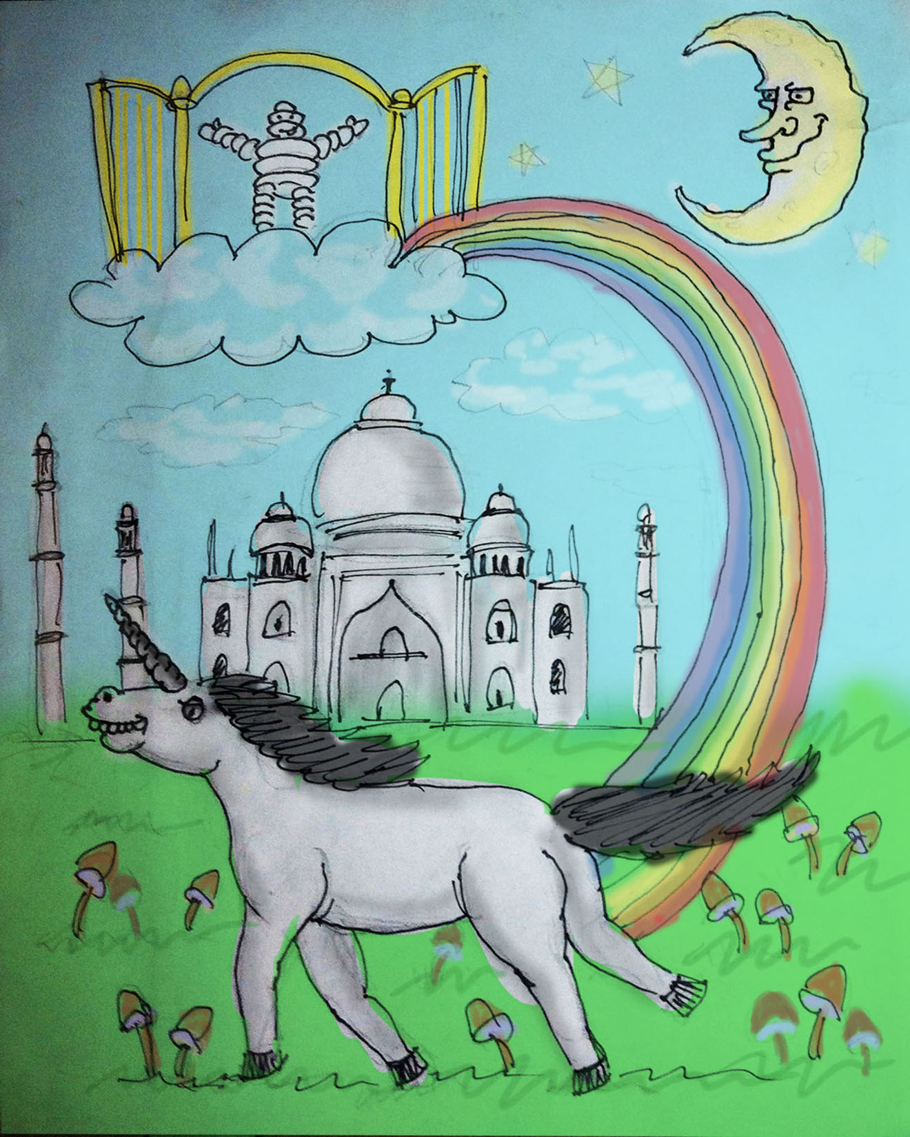 Unicorn+Drawing