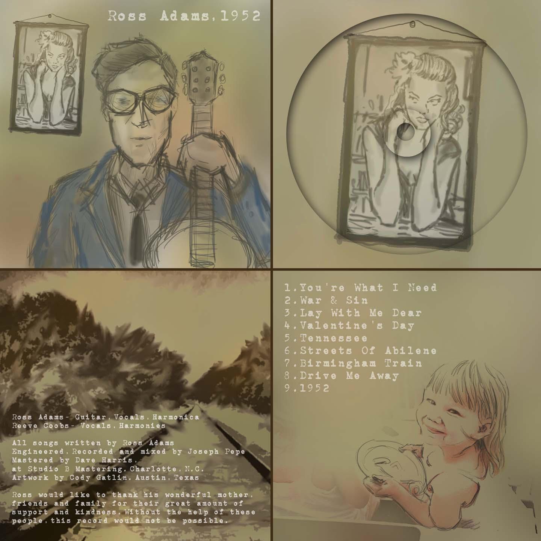 Ross Album Cover Art